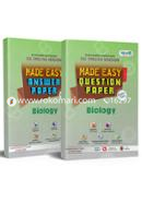 SSC Biology Made Easy Question Paper, All Education Boards, Exam-2020 (English Version)