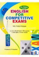 English For Competitive Exams (Je Kono Protijhogitamulok Porikkhar Drutotomo O Sofol Prostutir Ek Ononyo Sohayika)