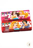 Smile Pencil Box 313 With Pencil Cutter and Double Chamber - 01 Pcs (Any  Color)
