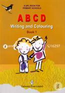 A B C D Writing and Coluring Book-1