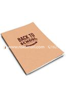 Back To School - Stapled Notebook [96 Page] [Thin Cover]
