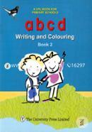 a b c d Writing and Coluring Book-2