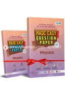 SSC Physics (English Version) Made Easy Proshno Potro, All Education Boards, Exam-2020