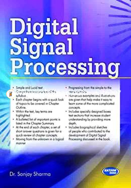Digital Signal Processing (For RGTU)