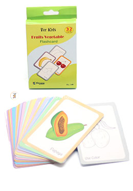 Fruits-Vegetable Flash Cards