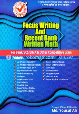 Focus Writing and Recent Bank Written Math