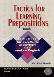 Tactics for Learning Prepositions (Books-1 )
