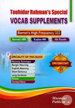 Vocab Supplements : Barron's High Frequency 333