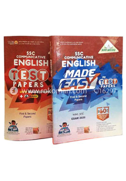 SSC Communicative English 1st and 2nd Part Test Papers with Made Easy, All Board Exam-2020