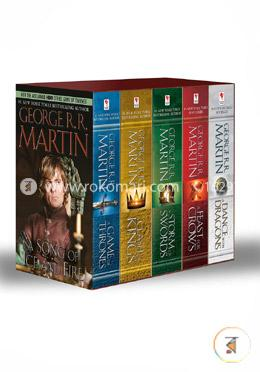 A Game of Thrones, A Clash of Kings, A Storm of Swords, A Feast of Crows, A Dance with Dragons