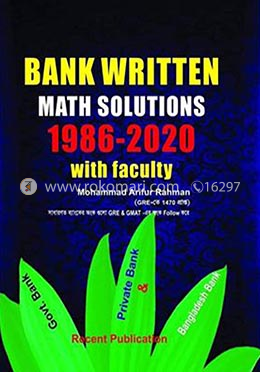 Bank Written Math Solutions 1986-2020 with Faculty