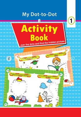 My Dot to Dot Activity Book-1 (Class-1)