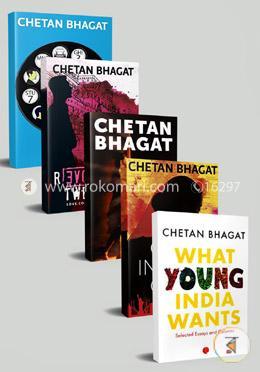Chetan Bhagat's 5 Books Set (Rokomari Collection)